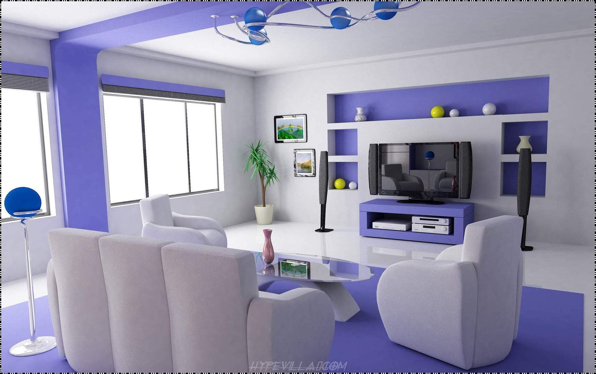 Interior Design Living Room Color nice stylish living room with soft blue & white - stylendesigns