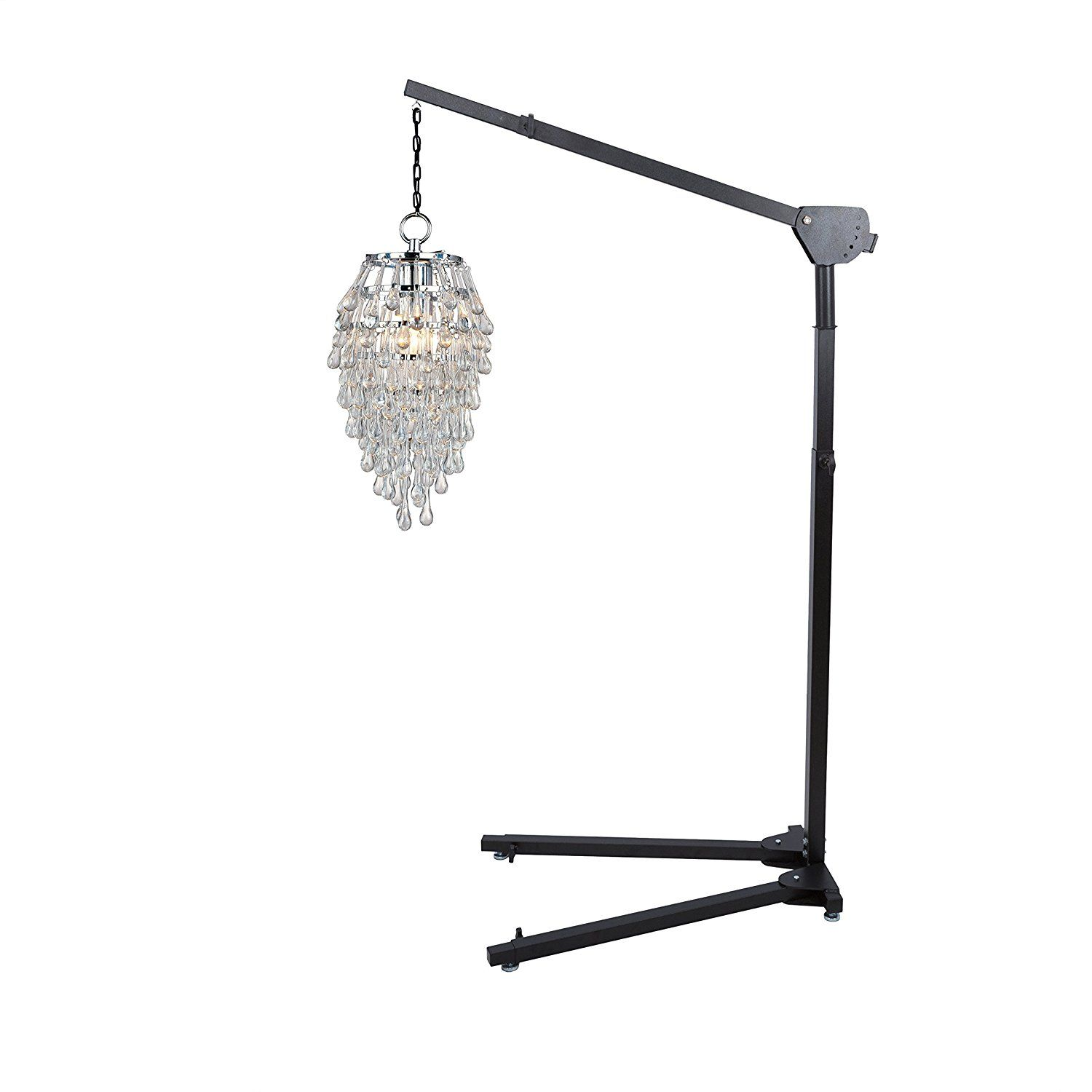 Chandelier Floor Stand 5 39 12 39 Height Hang Chandeliers And Pendant Light Fixtures Easily Pendant Light Fixtures Chandeliers And Pendants Chandelier