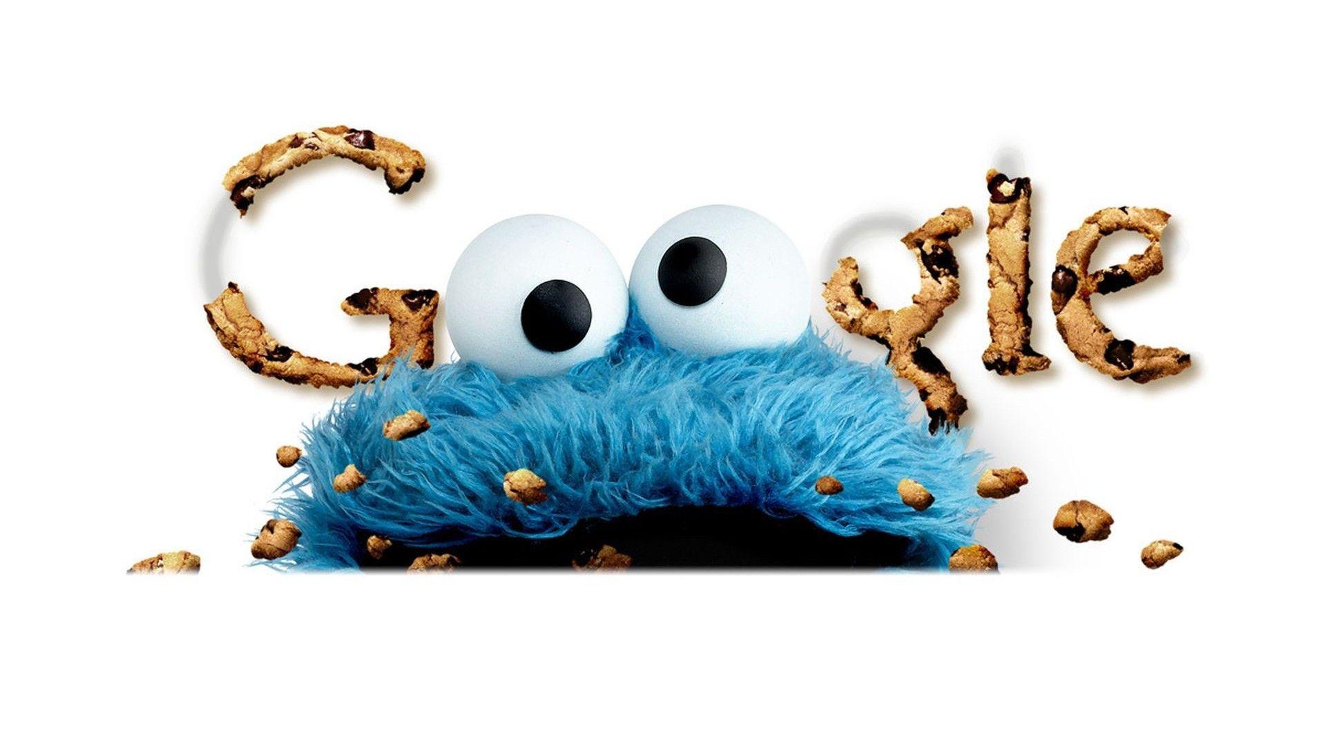 배경 화면 쿠키 몬스터 Google 검색 하트 1920 × 1080