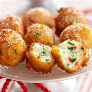 Funfetti holiday pancake poppers from crisco holiday favorites funfetti holiday pancake poppers from crisco my kids loved these we didnt have powdered sugar so we just used regular and they were great so easy to ccuart Images