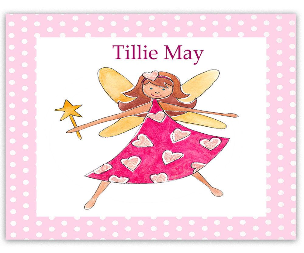 Childrenu0027s Personalised Table Mats, Personalised Place Mats, Toddler Mat,  Kids Placemat, Fairy