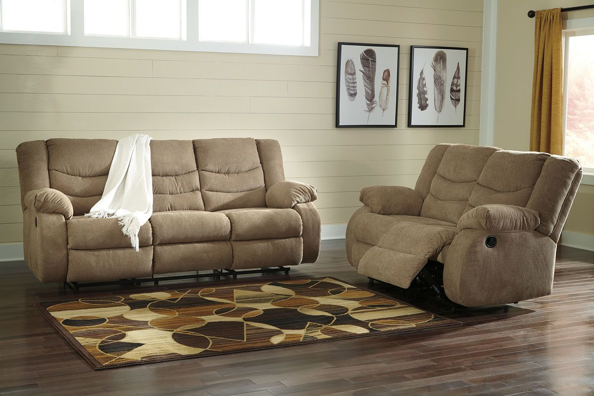Ashley Tulen Mocha Reclining Sofa Couch Reclining Loveseat Furniture Couch Furniture Reclining Sofa
