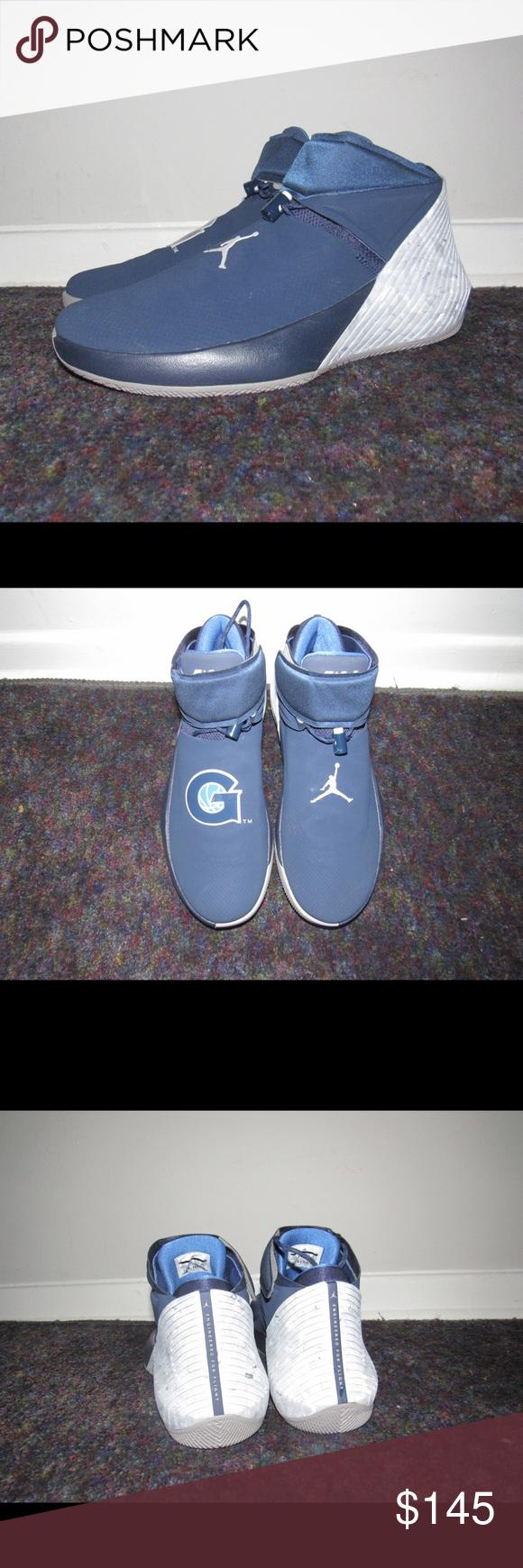 Jordan Why Not ZER0.1 Westbrook Georgetown Hoyas - Air Jordan Why Not ZER0.1  Westbrook AA2510-406 Size 11.5 Navy Georgetown Hoyas - Brand New without ... 2494401830