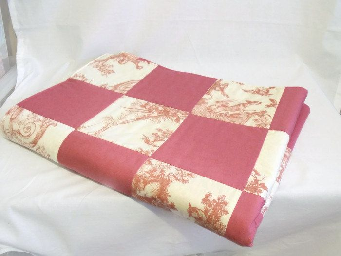 double bed runner, bedspread, quilted throw, patchwork quilt, long ... : patchwork quilt blanket - Adamdwight.com