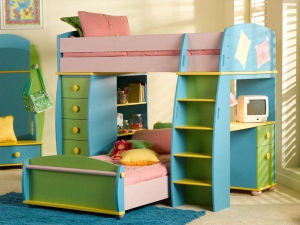 Wählen Sie das richtige Hochbett mit Treppe fürs