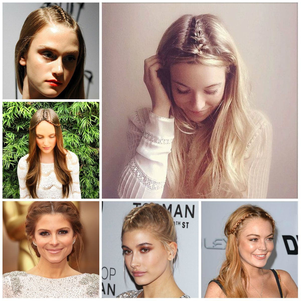Top 6 Center-Part Braids for 2016 | Trendy Hairstyles 2015 / 2016 ...