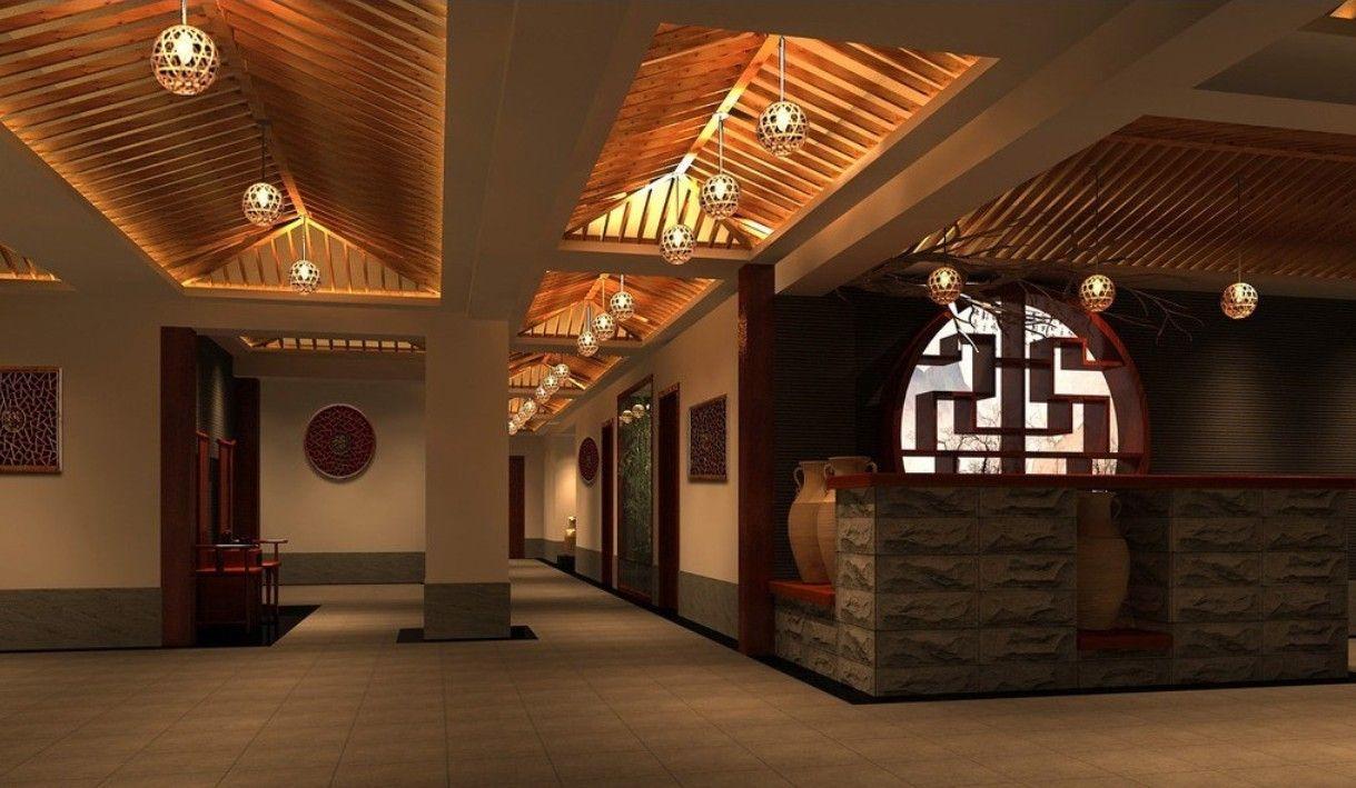 Modern chinese restaurant interior design idea asian - Chinese restaurant interior pictures ...