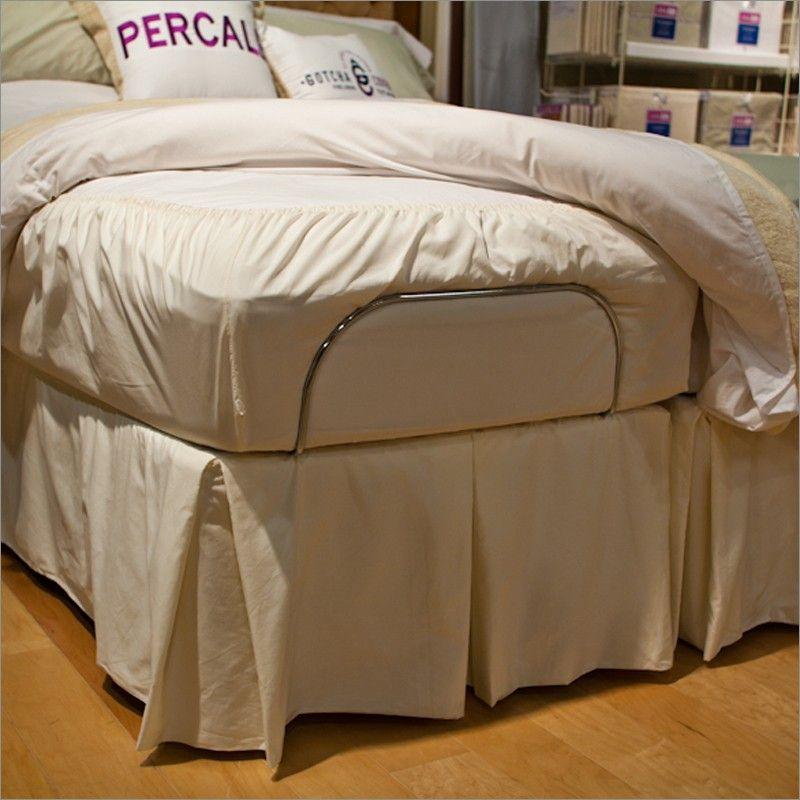 Gotcha Covered 300 Count Cotton Bedskirt For Adjustable Beds
