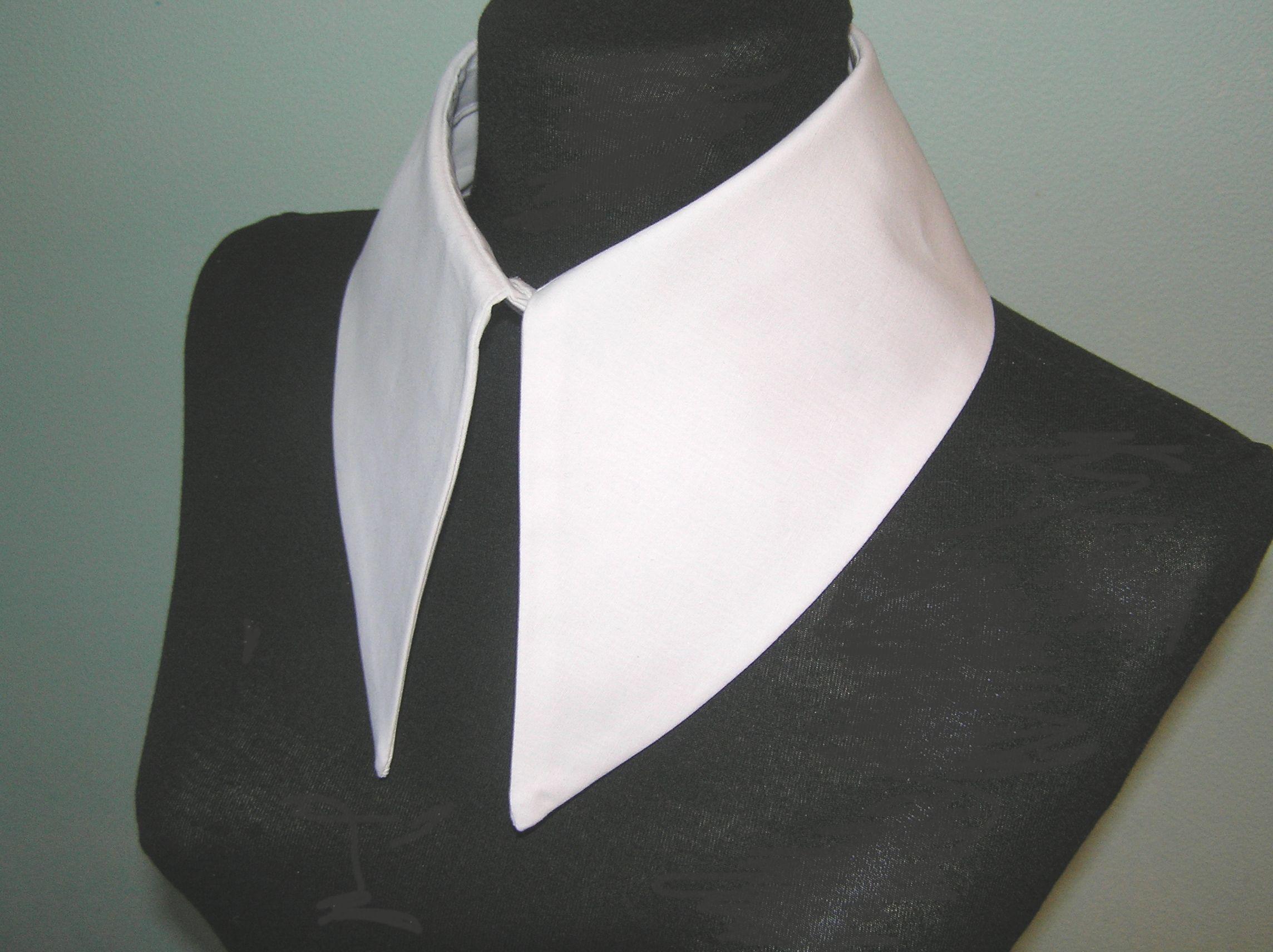 Madonna Wednesday Addams Detachable Collar Fake Handmade