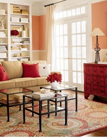 The Nest Home Decorating Ideas Recipes Peach Living Rooms