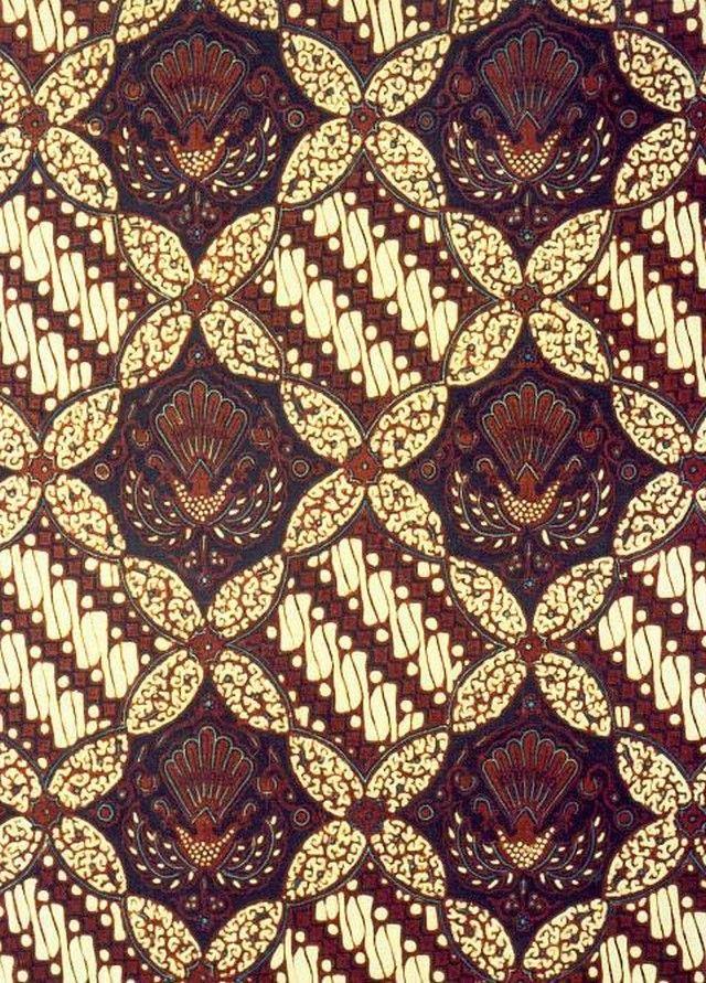 Gambar Batik Yogyakarta  motif ceplok parang  Batik  Pinterest