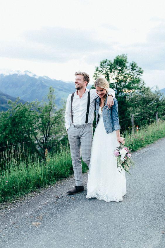 23 Arten Eine Jeansjacke An Ihrer Hochzeit Zu Schaukeln Wedding
