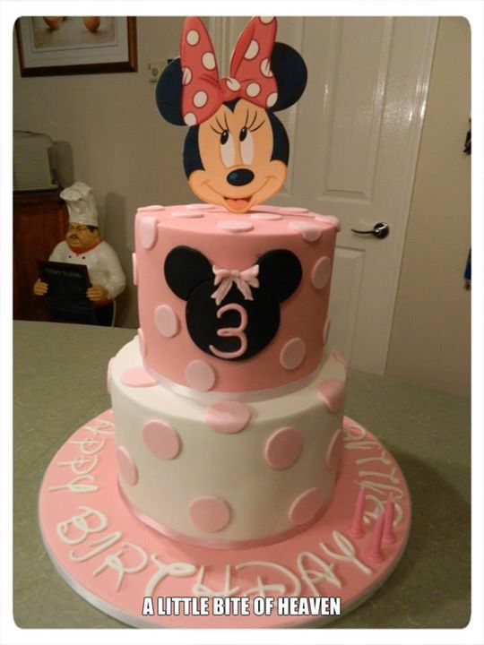 Minnie Mouse Cake Little Bites Mini