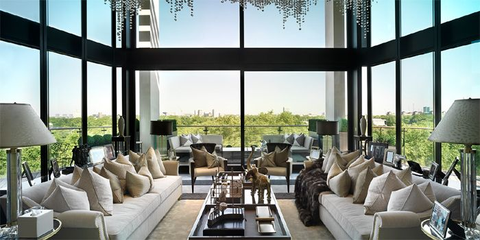 one hyde park penthouse apartment, knightsbridge, london decorated, Innenarchitektur ideen
