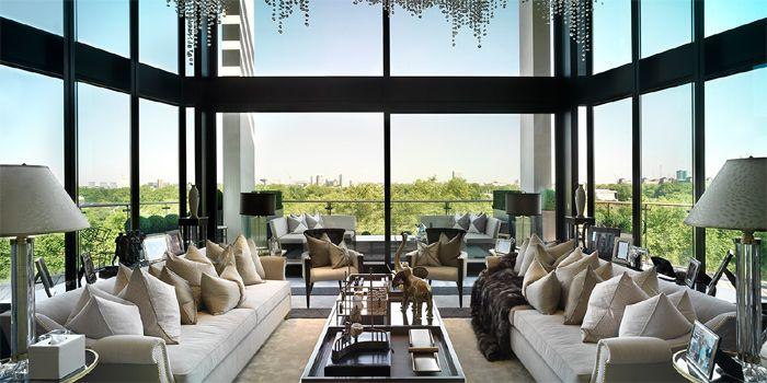one hyde park penthouse apartment, knightsbridge, london decorated, Innenarchitektur ideen