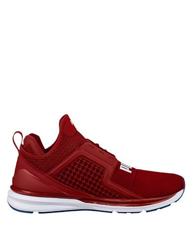 IGNITE LIMITLESS WEAVE - Sneaker low - red dahlia/white 9uaHTRGNA2