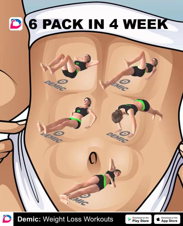 Best 6 Pack In 4 Week