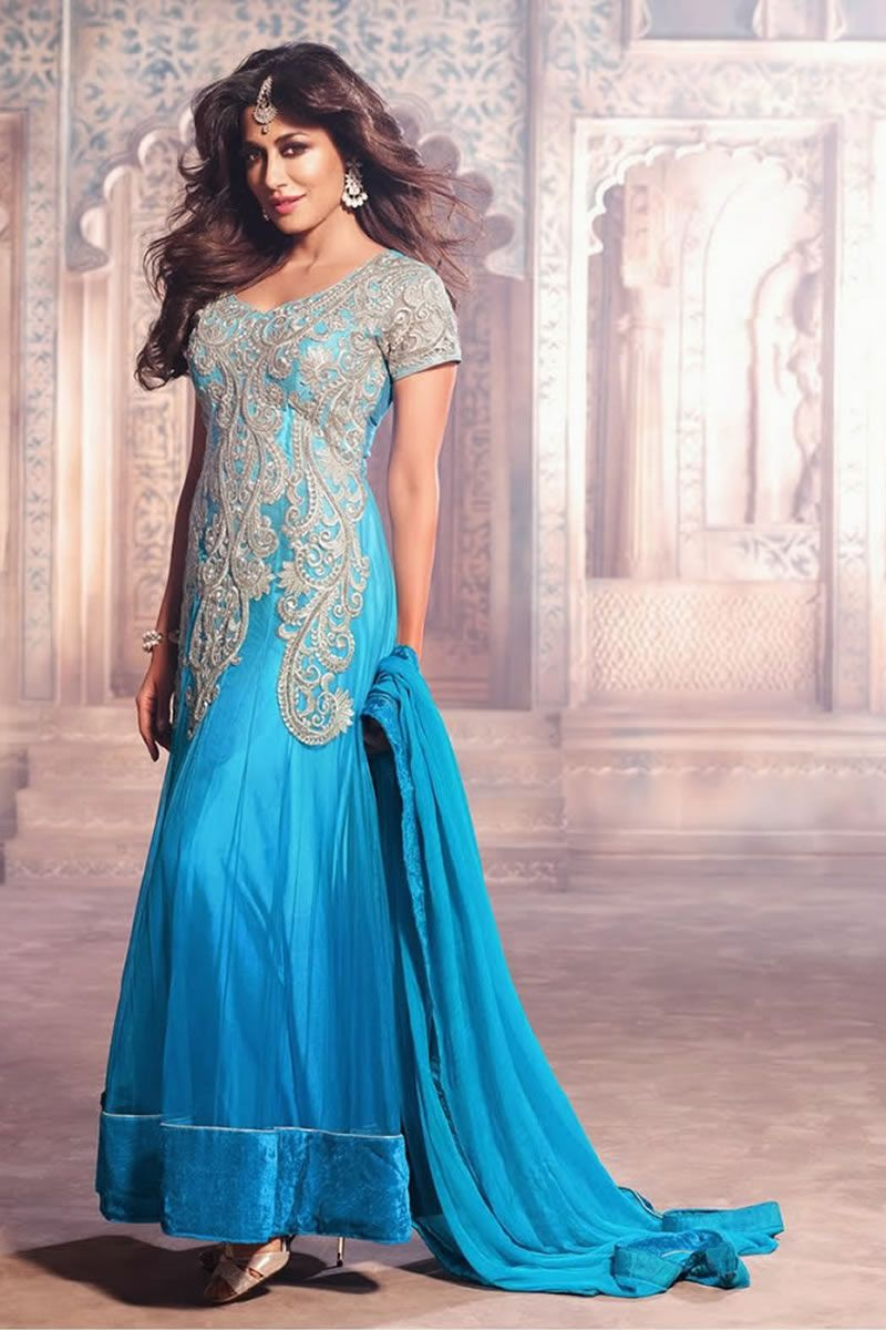 Bollywood Diva Chitrangada Singh Latest Gorgeous Long Anarkali ...