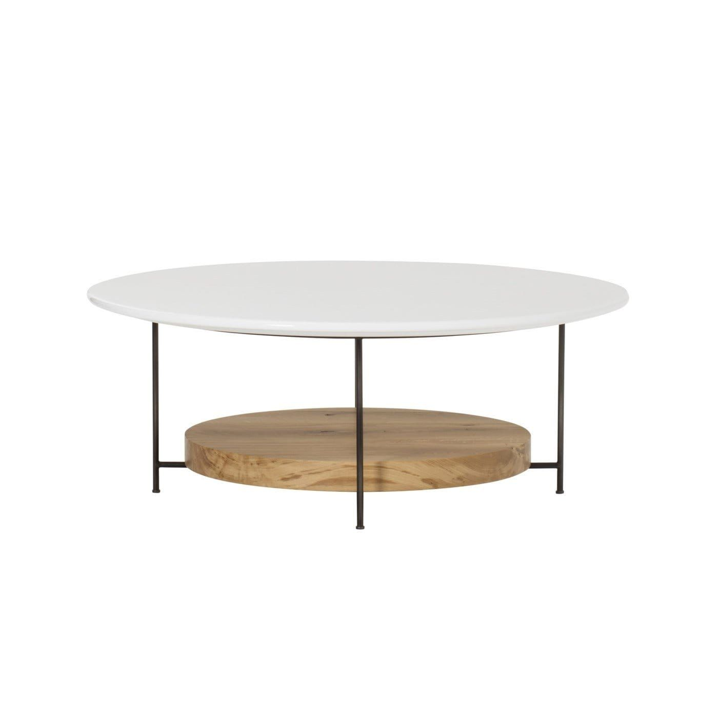 Olivia Round Coffee Table White In 2020 Coffee Table Round Coffee Table White Round Coffee Table [ 1400 x 1400 Pixel ]