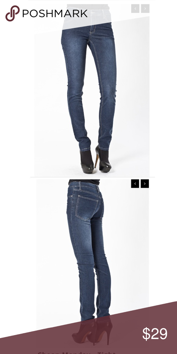NWT Cheap Monday Tight Jeans in Brushes Cheap Monday Tight Fit Jeans in Brushed Wash.  5 pocket jeans, zip fly. Cheap Monday Jeans Skinny