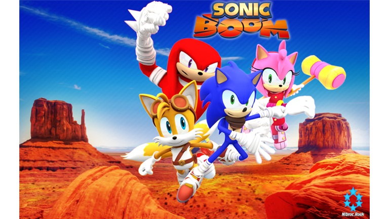 Sonic Boom Hangout Roblox Sonic Boom Sonic Classic Sonic