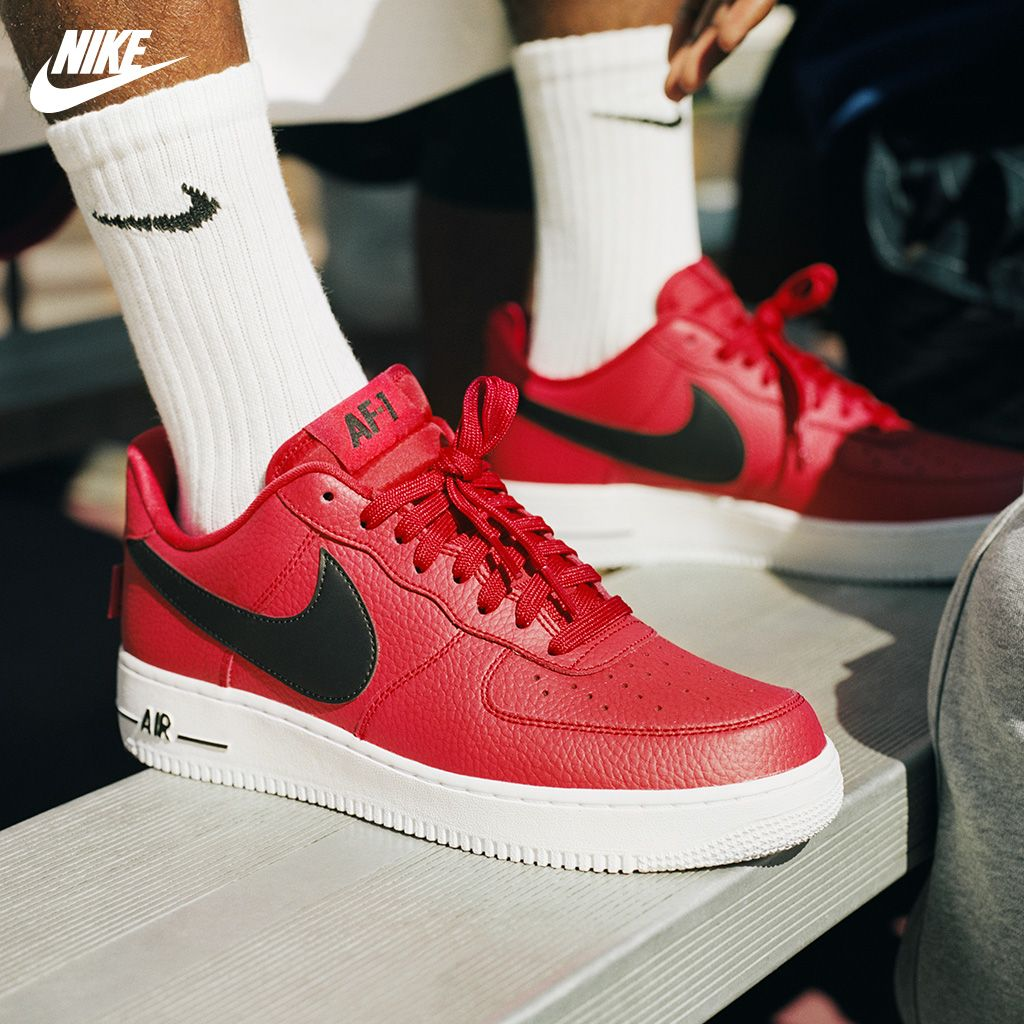 nike air force 1 nba rosse