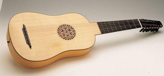 Resultado de imagen para guitarra renacentista