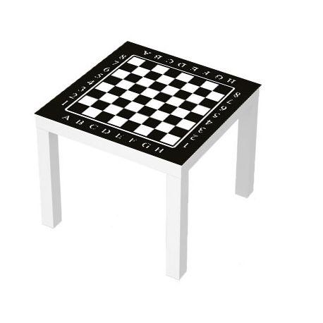 Sticker Table Lack 55x55 Echiquier Stickers Pour Meuble Table