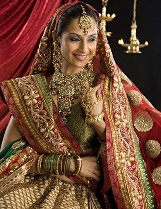 indian bridal dress httphaveheartdailycom