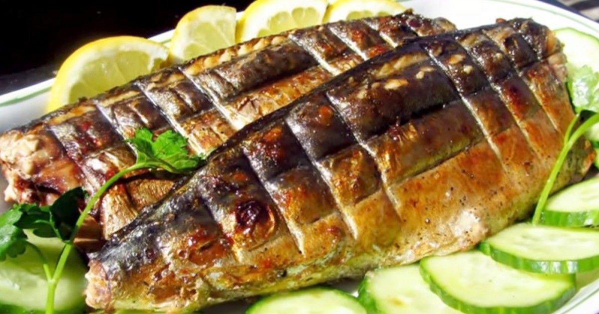 Скумбрия на мангале: выбор маринада, рецепты с фото ...