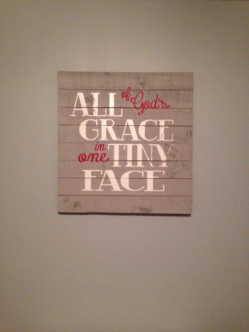 Love this pallet sign!