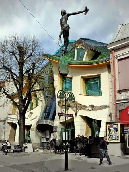 Architectural Designs - Crooked House – Sopot, Poland; http://en.wikipedia.org/wiki/Krzywy_Domek