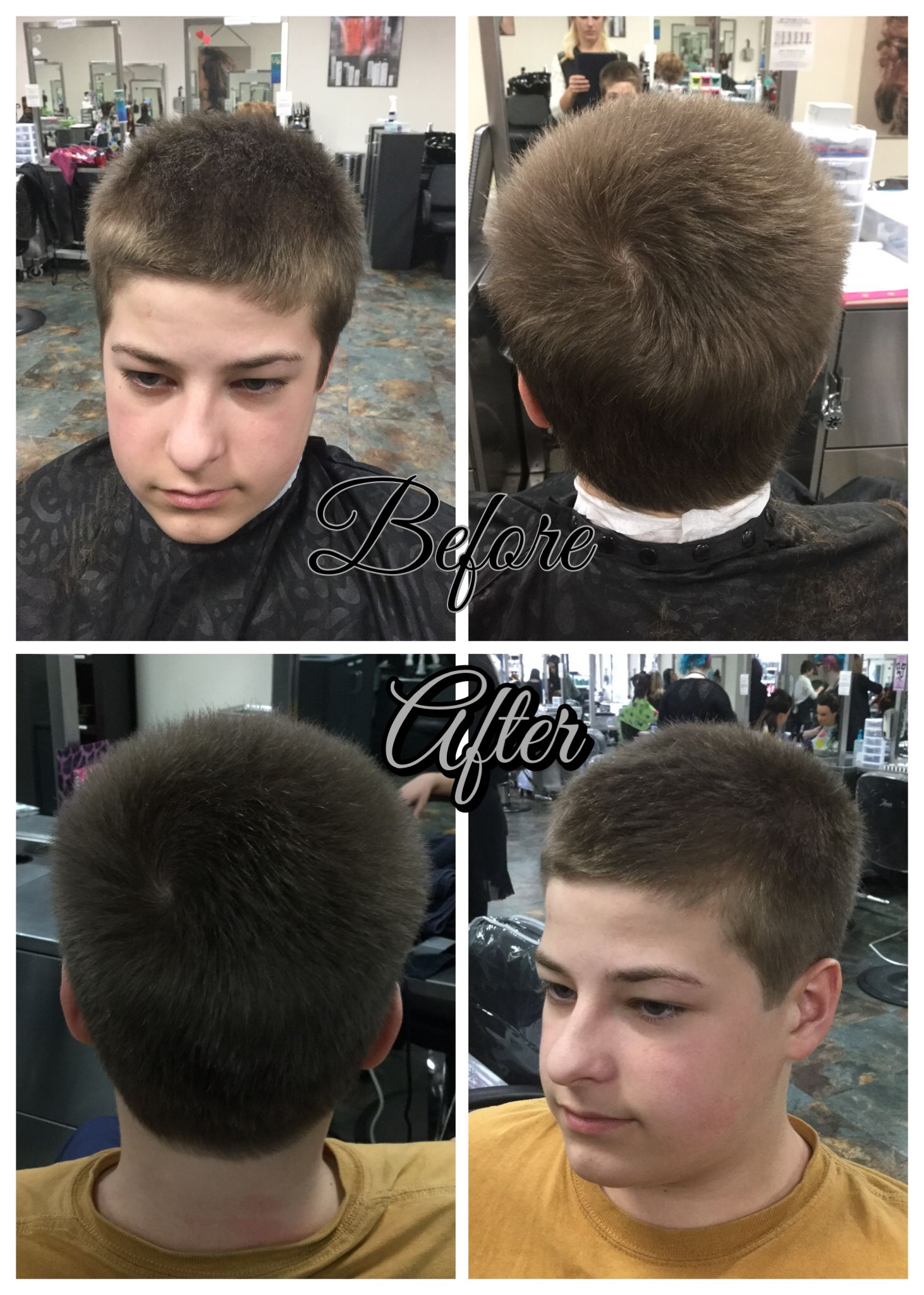 Haircut Using Clippers Over Clipper Comb On Sides And 1 Clipper