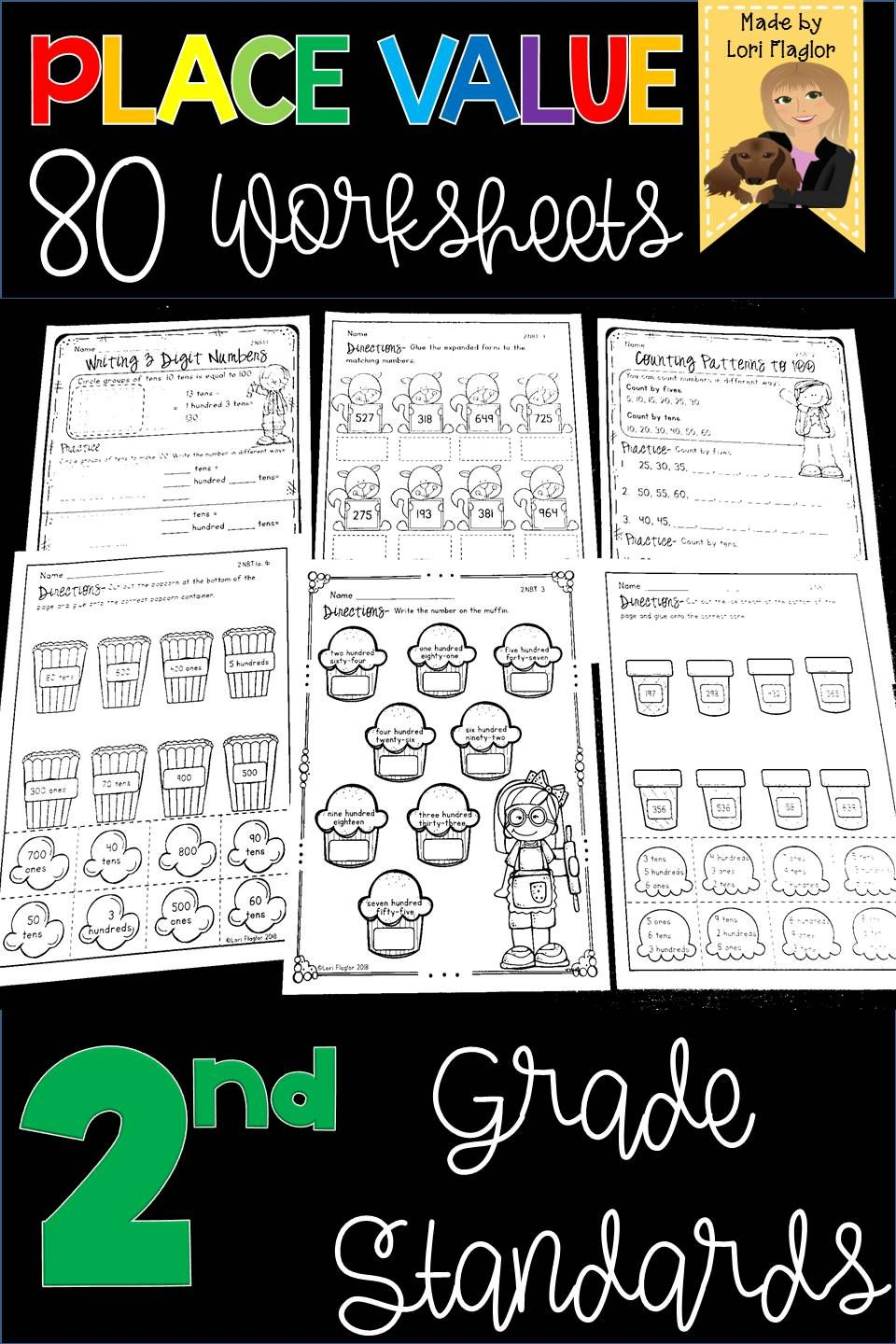 Place Value 2nd Grade Standards Distance Learning Fun Worksheets Teaching Common Core Teaching Math [ 1440 x 960 Pixel ]