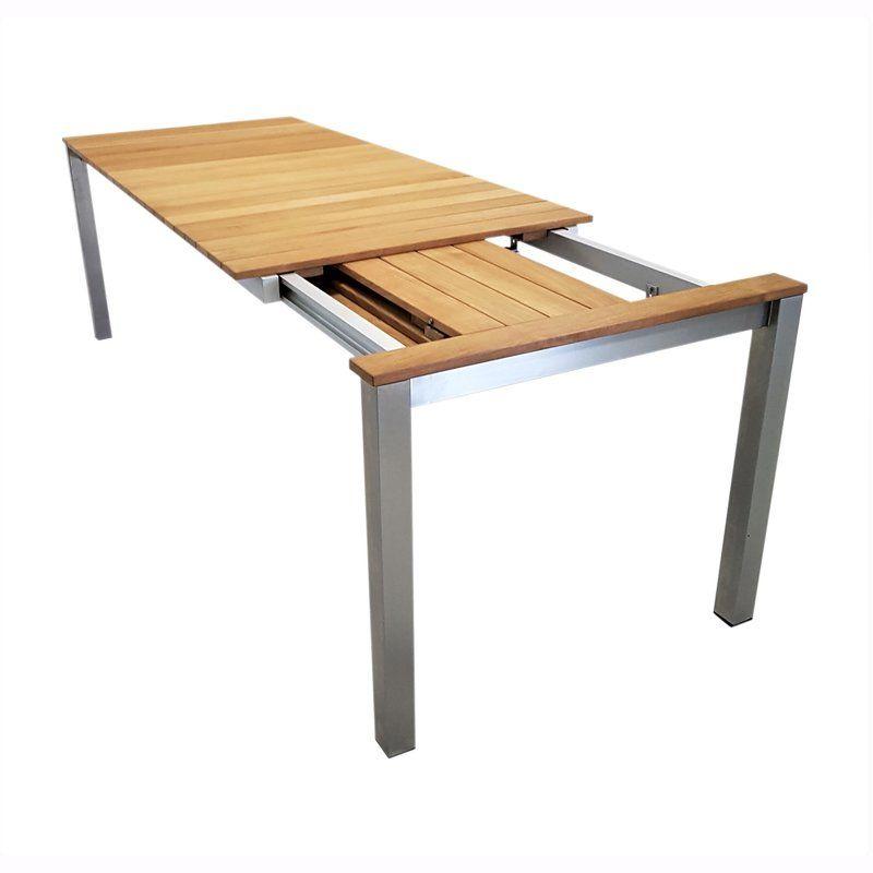 Gartentisch Ausziehbar Edelstahl Teak Nach Mass Tischgestelle Ping Pong Table Home Decor Decor