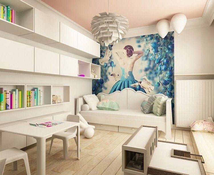 Pareti camerette ~ Camerette per ragazzi con pareti decorate n camere da letto