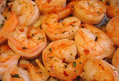 Pan Seared Shrimp - #lowcarb #seafood #dinner #weightwatchers