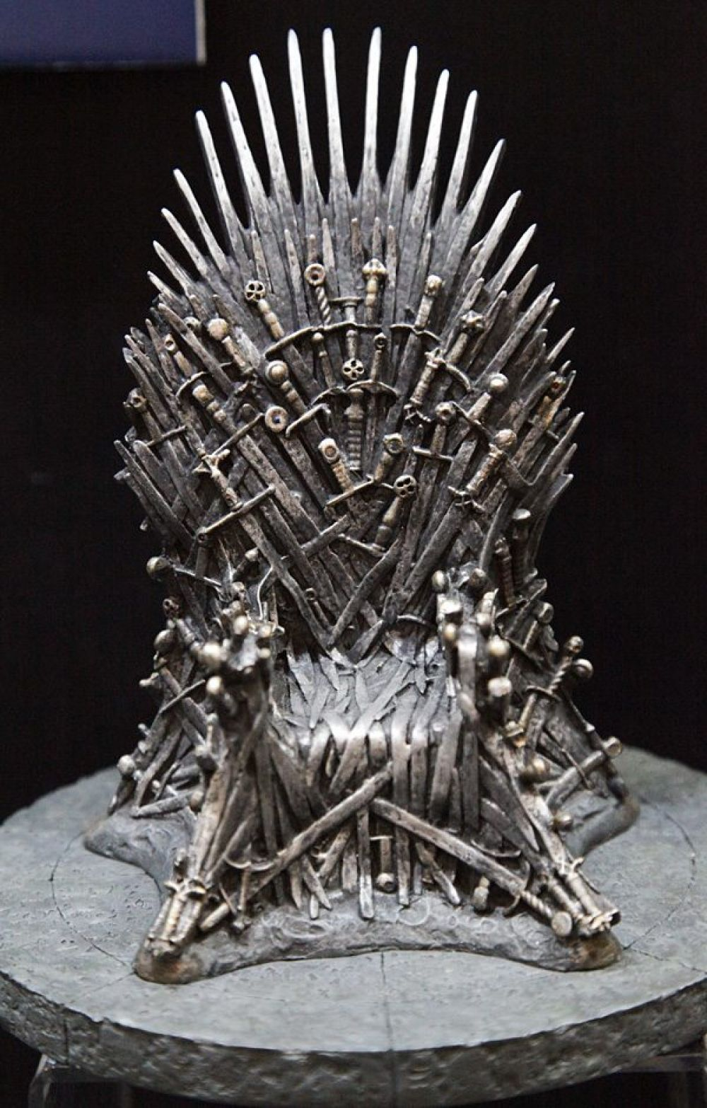 Game of thrones throne model free shipping worldwide in