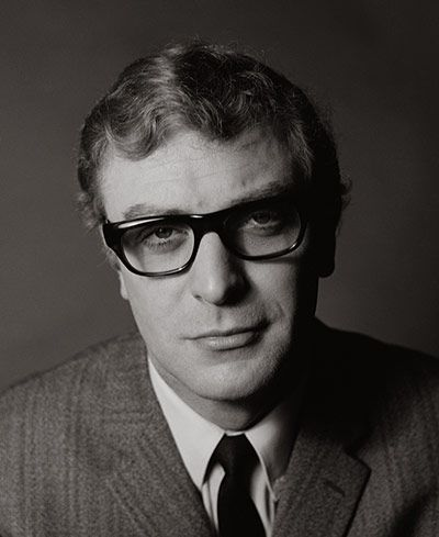 Credit: Lewis Morley Archive Michael Caine, in London, 1963. Caine was having trouble getting film roles, despite his well-received debut in A Hill in Korea (1956). He came to Morley's studio for a new series of publicity photographs.