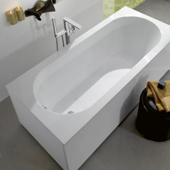 Villeroy & Boch Oberon: Die Einbau-Badewanne aus Quaryl ...