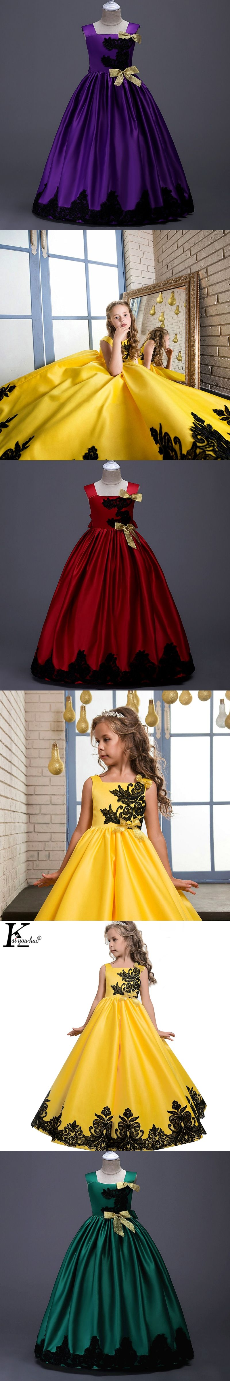 55fc30a87abd 2018 Girls Dress Carnava Kids Dresses For Girls Clothes Teenagers ...