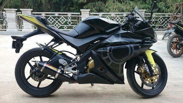 Modifikasi Motor Vixion 2010 menjadi YZF R125 by MBC