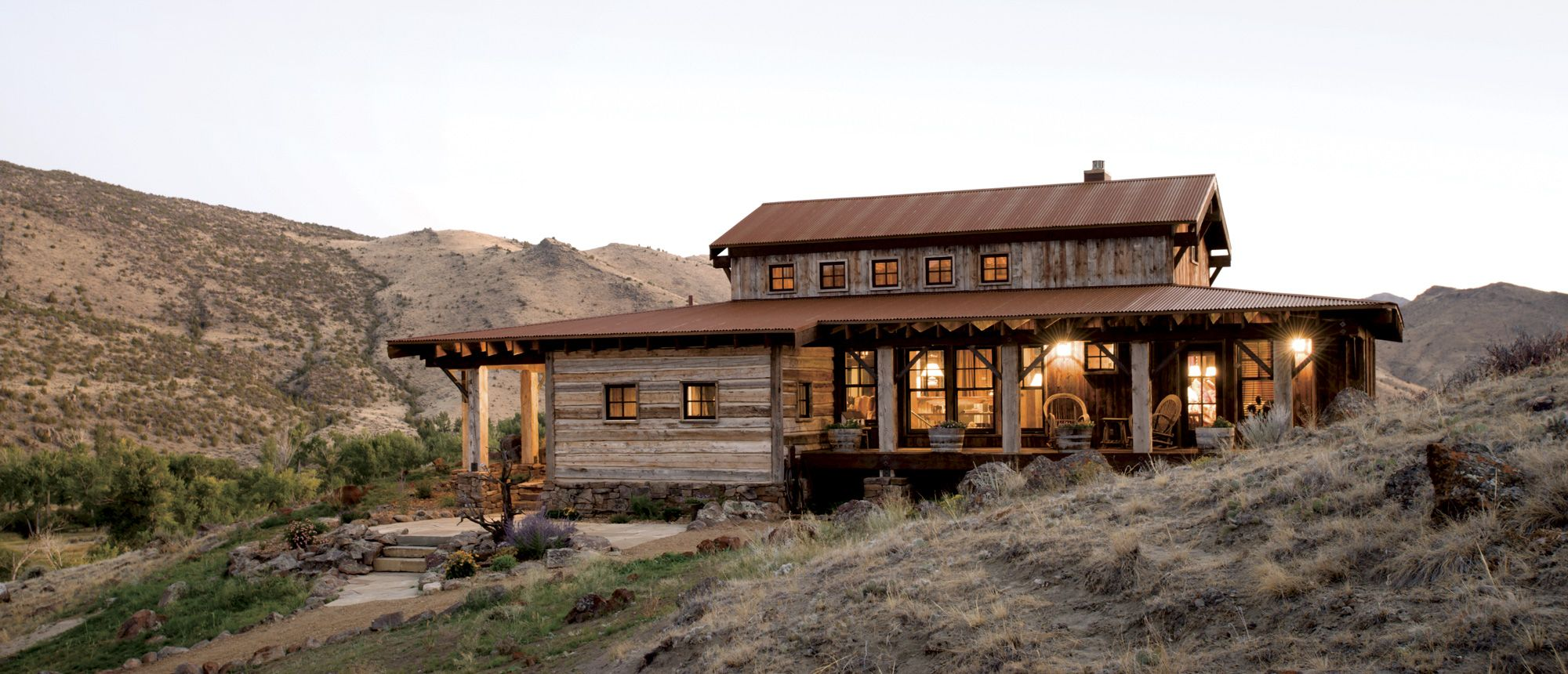 Western Design A Place To Belong Rustic Houses Exterior Country Farmhouse Style Ranch Style Homes