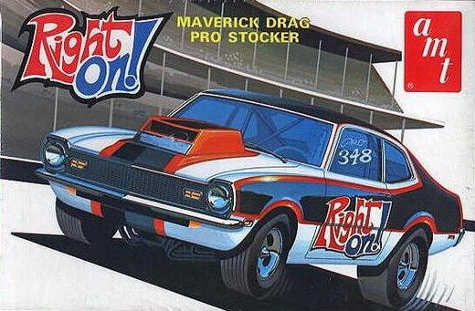Amt Maverick Pro Stocker Box Art Model Cars Kits Model Cars