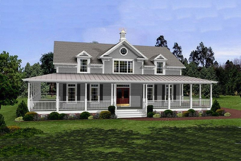 Country farm style homes