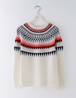 2e300c84eae Modern Fair Isle Sweater Boden More
