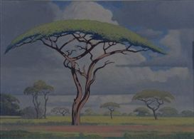 Acacia Tree - Pierneef