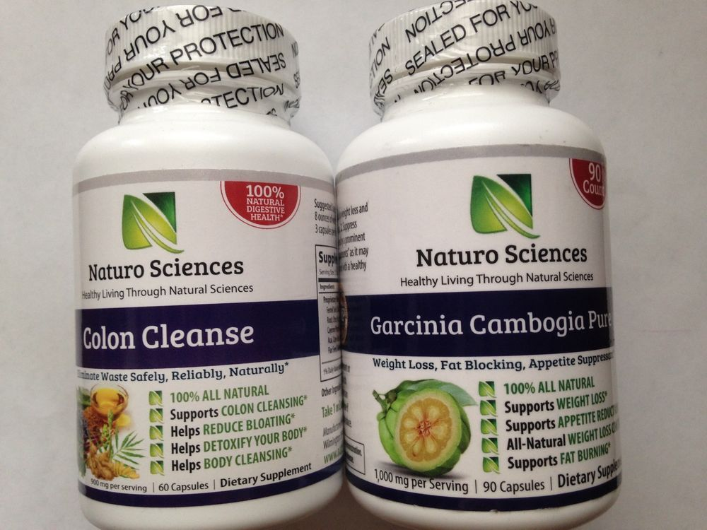 Naturo Sciences Colon Cleanse+Garcinia Cambogia Extract weight loss kit-FREEGift #NaturoSciences #weightloss #detox #bestdeal