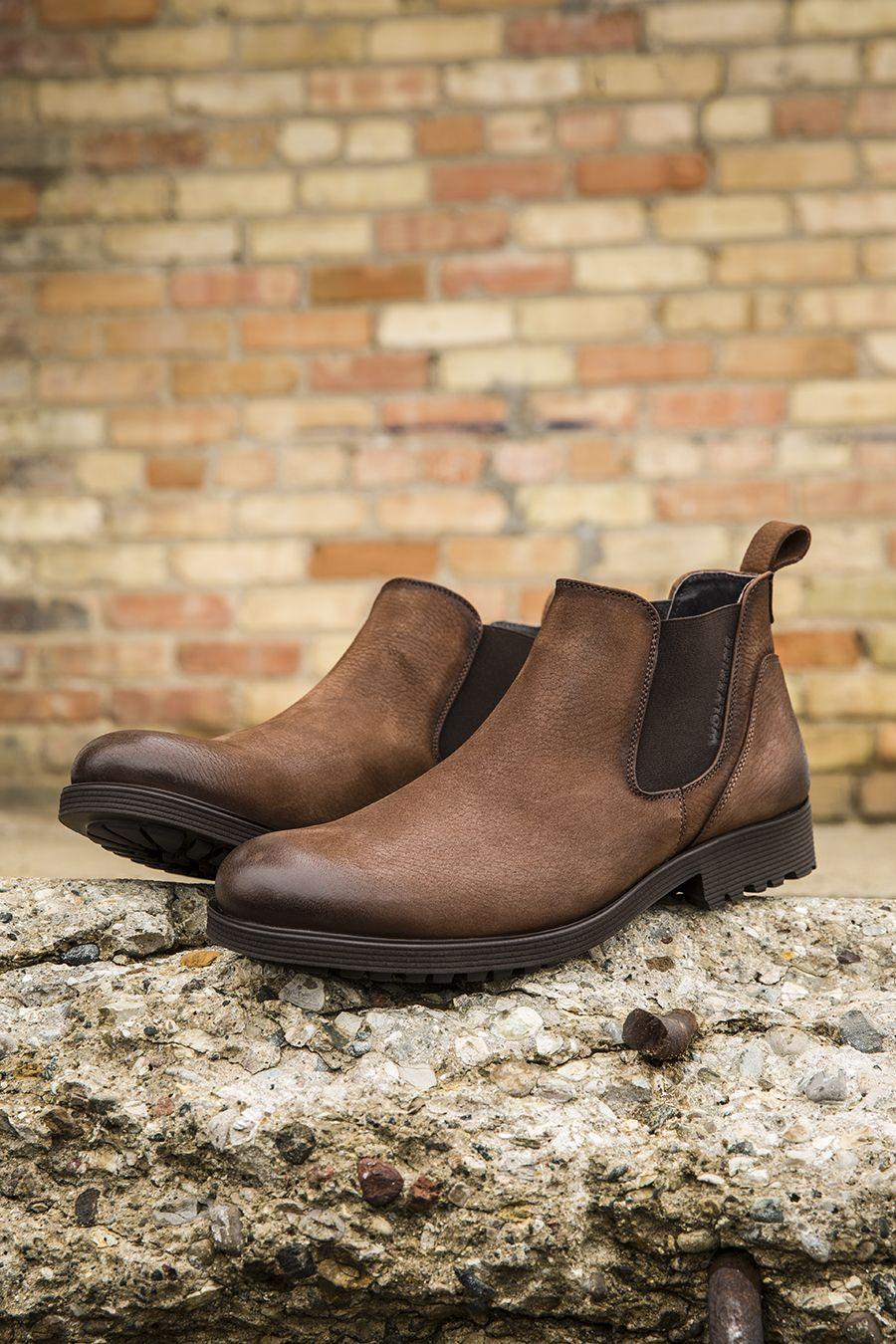 6deaef3b014 Wolverine Eckins: a classic men's pull-on boot paired with an ...