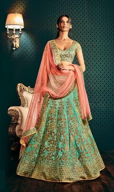 dca98c8f50 Designer Party Wear Indian Wedding Heavy Bridal Lehnga Choli Koti Skirt  Latest #Handmade #LehngaCholi